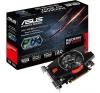Asus PCI-E AMD R7 250 (1024MB DDR5, 128bit, 1000/4500MHz, DP, DVI, HDMI, Dual Slot Ventilátor) videókártya