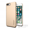 Spigen SGP Thin Fit Apple iPhone 7 Plus Champagne Gold hátlap tok