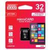 Goodram microSDHC 32GB class 10 UHS I +M1AA-0320R11