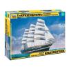 Zvezda Krusenstern Sailingship hajó makett Zvezda 9045
