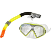 Allright Készlet do nurkowania Allright Ventoza Senior sárga maska + rurka