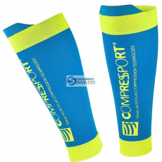Compressport zokni kompresyjne Compressport Calf R2 V2 Ice Blue R2V2-5020