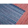 Beliani Matrózkék szőnyeg - pamut - 80x150 cm - BESNI