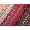 Beliani Színes szőnyeg - sötét tarka - pamut - 80x150 cm - DANCA