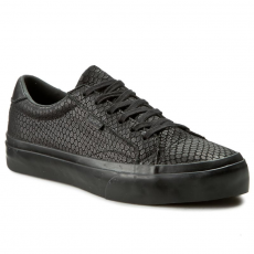 Vans Sportcipő VANS - Court+ (Snake Leather) Black/Black