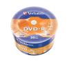 Verbatim DVD-R lemez, matt, 4,7GB, 16x, zsugor csomaglás, VERBATIM