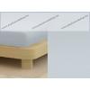 Jersey gumis lepedő, 90-100x200 cm, 135 g/nm, Grafitszürke
