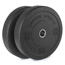 Capital Sports CAPITAL SPORTS Renit, hi temp gumikerék, 50,4 mm, alumínium mag, gumi, 2 x 20 kg súlytárcsa
