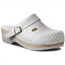 Scholl Papucs SCHOLL - Clog S/Comf.B/S Ce F20078 1065 400 White
