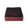 Cazo Paris bőr matrac kutyáknak - fekete - 75x60cm