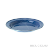 """GSI outdoorsPLATE STAINLESS RIM 10.375""""- BLUE"""