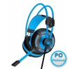 ACME Aula Spirit Wheel Gaming Headset Black/Blue