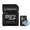 Kingston 16GB microSDHC CL10 UHS-I Industrial Temperature + adapterrel