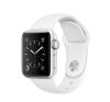 Apple Watch Series 2 - 38 mm-es, ezüst színű alumíniumtok fehér sportszíjjal okosóra