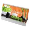 REALSYSTEM Meditáció, képes álló asztali naptár RS7941