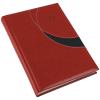 REALSYSTEM Prémium-M A5 napi beosztású határidőnapló, Piros
