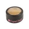 Crystal Nails ChroMirror Króm Pigmentpor - Gold