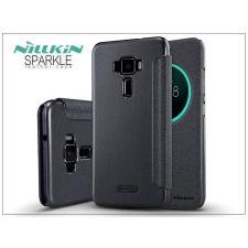 Asus Zenfone 3 (ZE552KL) oldalra nyíló flipes tok - Nillkin Sparkle - fekete tok és táska