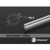 Bitspower None Chamfer PETG Link Tube 16/12mm, 50cm - átlátszó