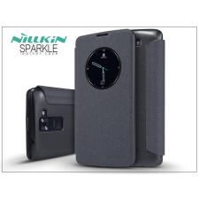 Nillkin LG K8 K320N oldalra nyíló flipes tok - Nillkin Sparkle - fekete tok és táska