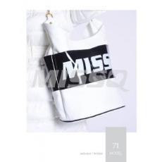 MISSQ MB37 Fekete fehér táska-Missq (2)