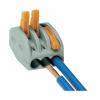 WAGO vezetékösszekötő 3-as oldható