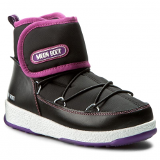 Moon Boot Hótaposó MOON BOOT - W.E. Jr Strap Wp 34050900005 Nero/Orchidea