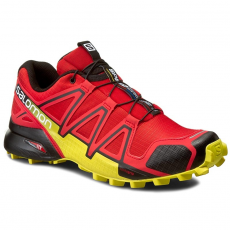 Salomon Bakancs SALOMON - Speedcross 4 381154 27 V0 Radiant Red/Black/Corona Yellow