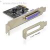 DELOCK PCI-E x1 - 1 párhuzamos port IO vezérlő