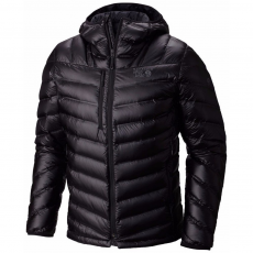 Mountain Hardwear Stretchdown RS Hooded Jacket Túrakabát,outdoor kabát D (1676901-p_090-Black_)
