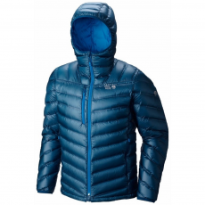 Mountain Hardwear Stretchdown RS Hooded Jacket Túrakabát,outdoor kabát D (1676901-p_489-Phoenix Blue)