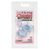 California Exotic Novelties Kék pillangó péniszgyűrű