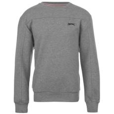 Slazenger gyerek pulóver - Fleece Crew Sweater
