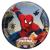Pókember , Spiderman Papírtányér 8 db-os 19,5 cm