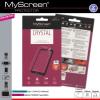 Myscreen Alcatel One Touch Pixi 3 (8) LTE; (OT-9022X) Kijelzővédő Fólia 1db Áttetsző MSP