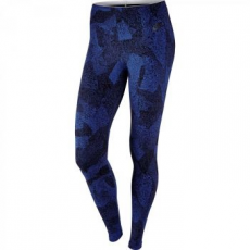 Nike Legging női edzőnadrág, Game Royal/Black, L (803654-480-L)