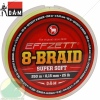 D.A.M EFFZETT 8-BRAID / 125 M / DIA 0,30 MM / 60 LB