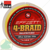 D.A.M EFFZETT 4-BRAID / 125 M / DIA 0,08 MM / 8 LB