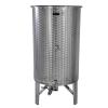 Zottel Úszófedeles INOX bor tartály 800 l-3 csapos