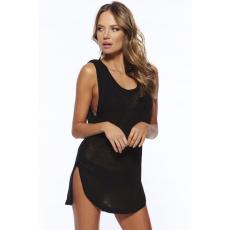 Fekete sexy strandruha