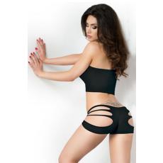 Sexy Pántos Fekete 2 részes Bikini