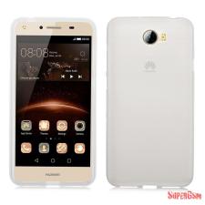 CELLECT Huawei Y6 II Compact/Y5 II vékony szilikon hátlap,Átlátszó tok és táska