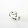 """""""Accent"""" préselt ezüst gyűrű különlegesen könnyű kivitelben, mindennapos használatra"""