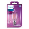 Philips Consumer LEDClassic candle 4-40W B35 E14 827 CL ND