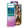 Philips Consumer LED candle 5.5-40W B38 E14 827 CL ND SceneSwitch