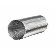 Vents Hungary Vents Aluvent Na 130 mm Alumínium Flexibilis Cső 1 m hűtés, fűtés szerelvény