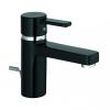Kludi ZENTA XL egykaros mosdócsap NA 10 fekete/króm lefolyó garnitúrával