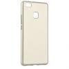 Huawei P8 Lite, TPU szilikon tok, Jelly Flash Mat, arany