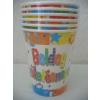 Boldog Születésnapot party pohár