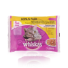 Whiskas alutasakos eledel szárnyas válogatás aszpikban 4 x 100 g